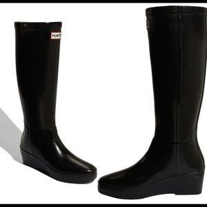 🎉HP🎉Hunter Arolla Tall Wedge Boot